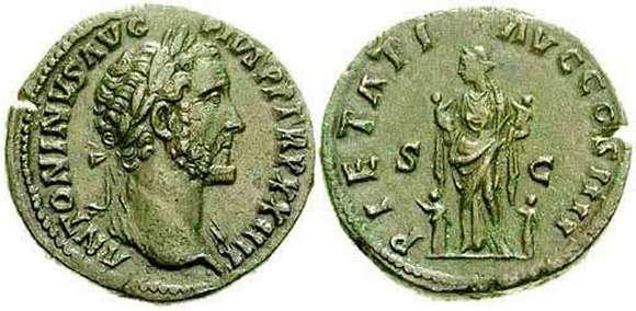 Sestercio de Antonino Pío. PIETATI AVG COS IIII / SC. Roma RIC_1045