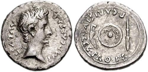 مسكوكات الامبراطور والقيصر اغسطس  RIC_0002a