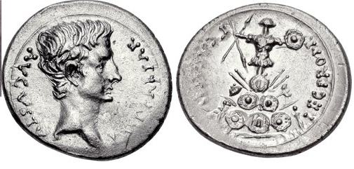 مسكوكات الامبراطور والقيصر اغسطس  RIC_0005