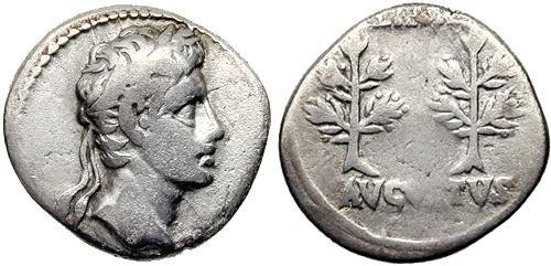 مسكوكات الامبراطور والقيصر اغسطس  RIC_0033a.2