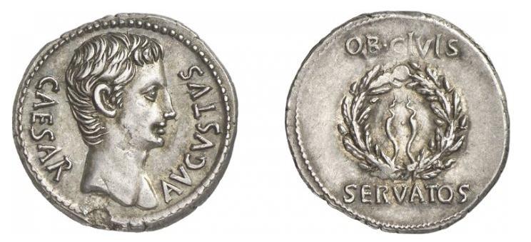 مسكوكات الامبراطور والقيصر اغسطس  RIC_0040a