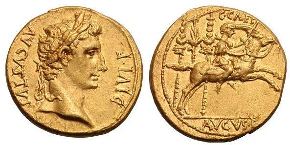 مسكوكات الامبراطور والقيصر اغسطس  RIC_0198