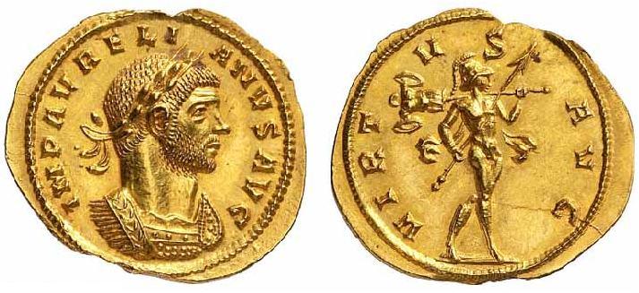 مسكوكات الامبراطور الروماني أورليان  RIC_0001