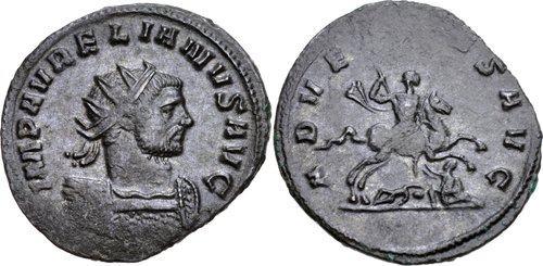 مسكوكات الامبراطور الروماني أورليان  RIC_0042v