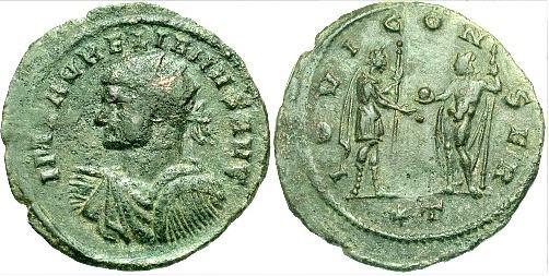 مسكوكات الامبراطور الروماني أورليان  RIC_0225var