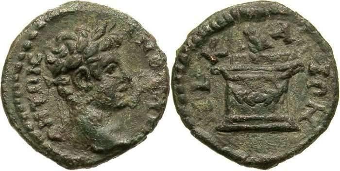 AE14 Provincial de Caracalla. Nicea _nicaea_Nemesis_8848