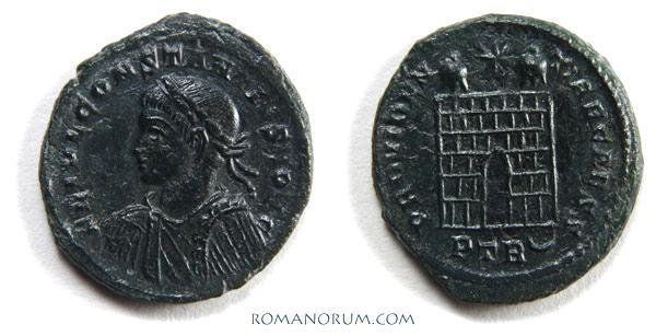 Petite monnaie à identifier _trier_RIC_VII_464var