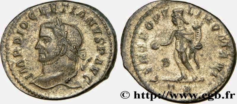 Nummus de Diocleciano.  RIC_152a_var