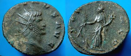 Antoniniano de Galieno (FORTUNA REDUX) RIC_0572