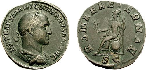 مسكوكات الامبراطور غورديان الثاني  RIC_0005