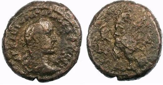 مسكوكات الامبراطور غورديان الثاني  Milne_3302cf