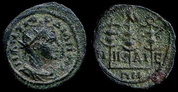 AE18 Provincial, ceca de Nicea. _nicaea_SNGUK_700-1165