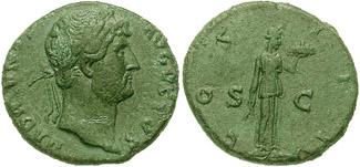 Dupondio de Hadriano RIC_0668