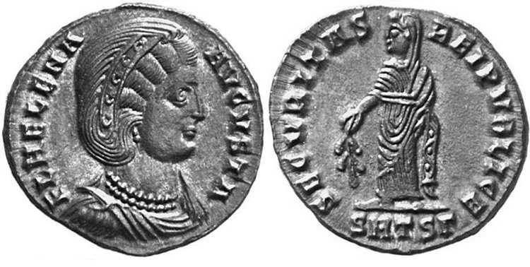 AE3 de Elena. SECVRITAS REIPVBLICE. Tesalónica _thessalonica_RIC_159_G