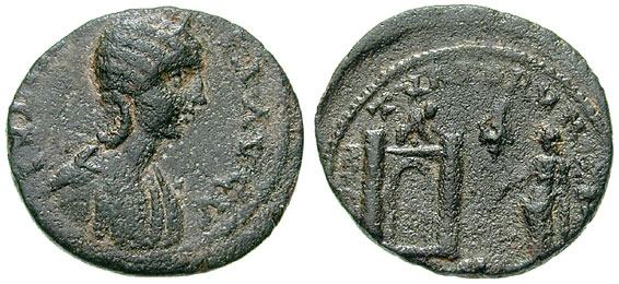 Moneda romana de cobre a identificar 1  _tyre_AE29_Rouvier_21