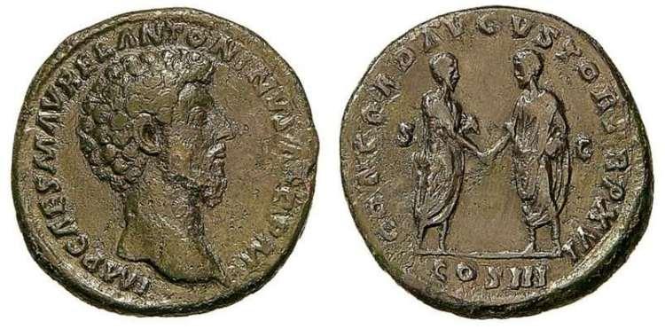 Sestercio de Marco Aurelio RIC_0823