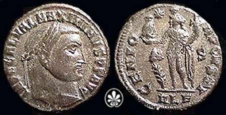 Nummus de Maximino II Daza. GENIO AVGVSTI. Alejandría _alexandria_RIC_160b.1