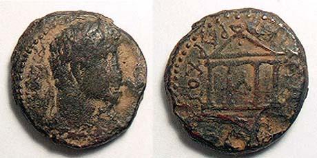مسكوكات الملك هيرودس فيلبس الثاني Hendin_535