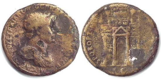 قوس النصر Triumphal arch RIC_0572