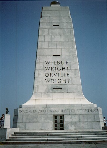 Historic monuments Wrightmemorial