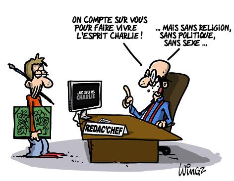 A RIRE OU EN PLEURER OU REVUE DE PRESSE SATIRIQUE - Page 21 Mon-journal-est-charlie