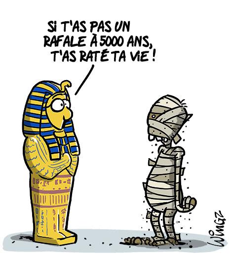 A RIRE OU EN PLEURER OU REVUE DE PRESSE SATIRIQUE - Page 23 Egypte-achete-24-rafale