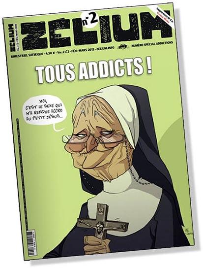 A RIRE OU EN PLEURER OU REVUE DE PRESSE SATIRIQUE - Page 23 Zelium-fev-mars-20151