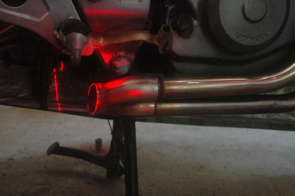 NTV - Adaptation Echappement Ducati/Austin ... Coupe07