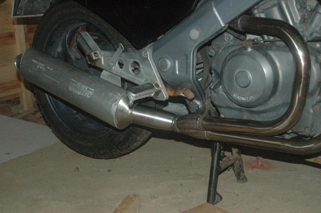 NTV - Adaptation Echappement Ducati/Austin ... Coupe14