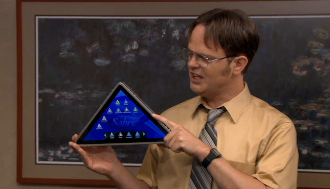 Apple Trolling Samsung TheOffice_ThePyramid_ss
