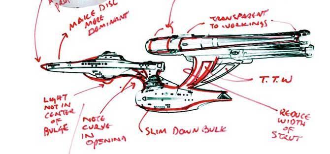 Star Trek : The Art of the Film (2009) Trek_enterprise_markup