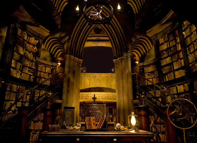 Кабинет Директора Dumbledore_office_660
