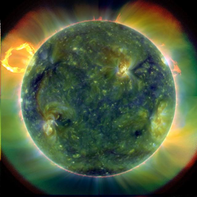 Here comes the SUN. SDO-sun