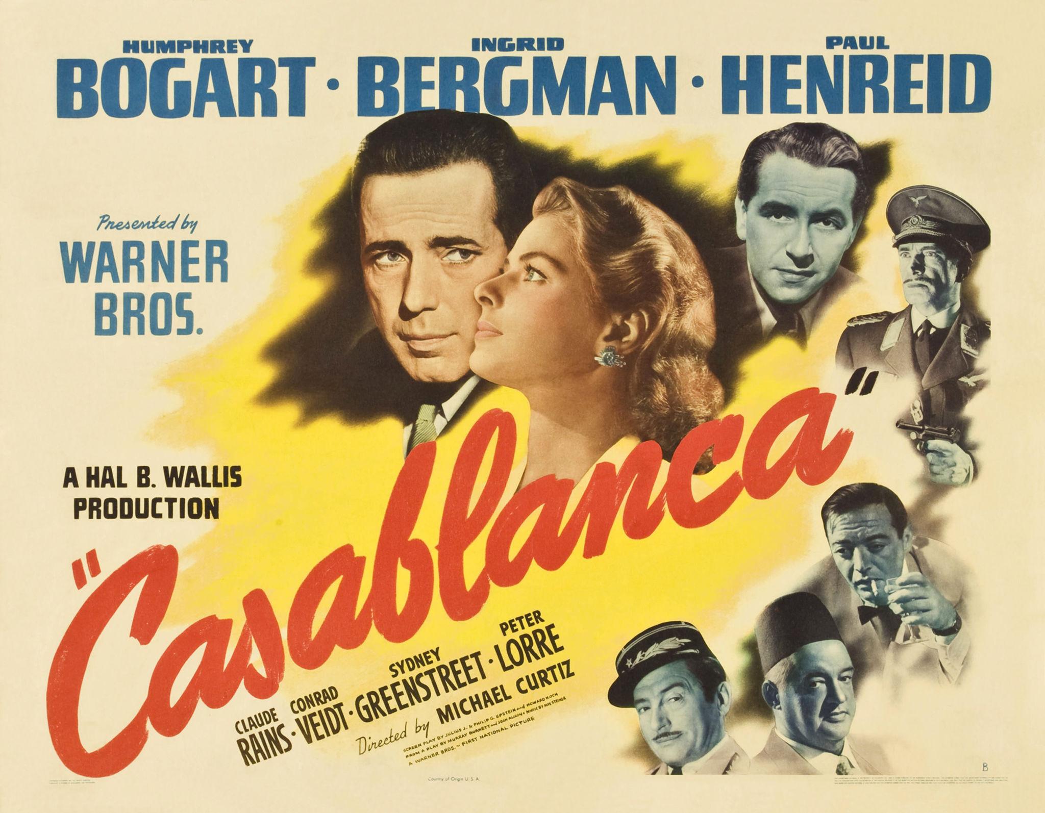 Las ultimas peliculas que has visto - Página 38 Poster-Casablanca_13