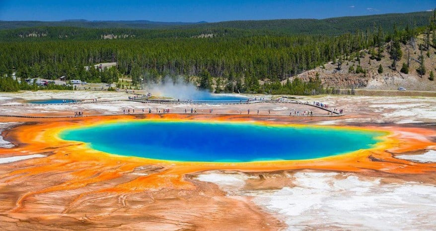 10 Places So Surreal They Could Be From Other Planets Grand-Prismatic-Spring-878x466