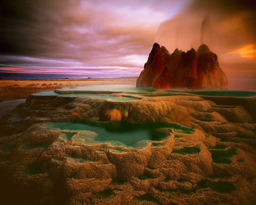 10 Places So Surreal They Could Be From Other Planets Fly-geyser-878x702