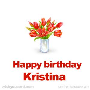 Happy birthday, Kristina!! (ingallsfan2008) Kristina