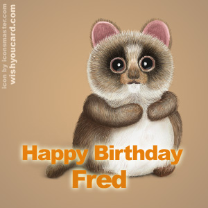 Happy Birthday Fred (Thargoil) Fred
