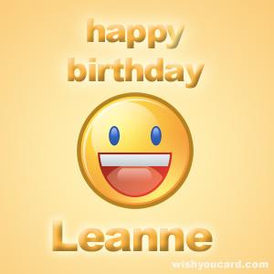 HAPPY BIRTHDAY THREAD Leanne