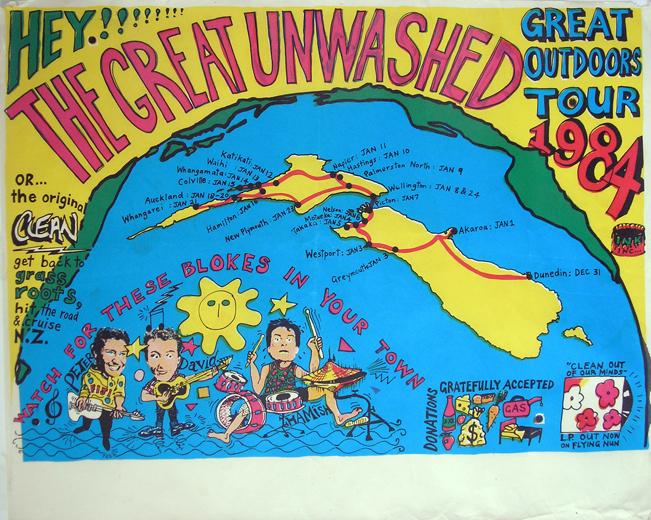 DUNEDIN SOUND TAPES - La mejor música neozelandesa de los 80 y 90. - Página 10 The-Great-Unwashed-Outdoors