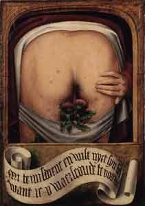 [iconographie] Diptyque satirique flamand début XVIe B12013Bz
