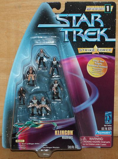 Mini playsets vaisseaux et figurines. 16271-klingon