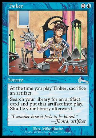 The Fun of Trolling a format (legacy) Tinker