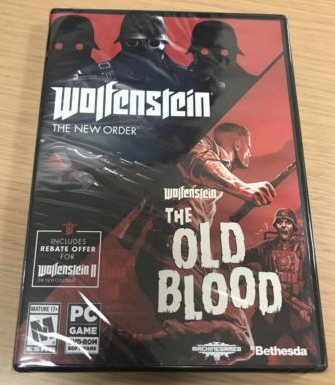 Thread for selling Wolfenstein related games Twinpack