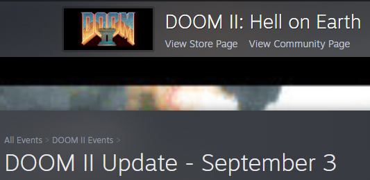 Steam Doom II Technical Updates Doom2Sept03-2020
