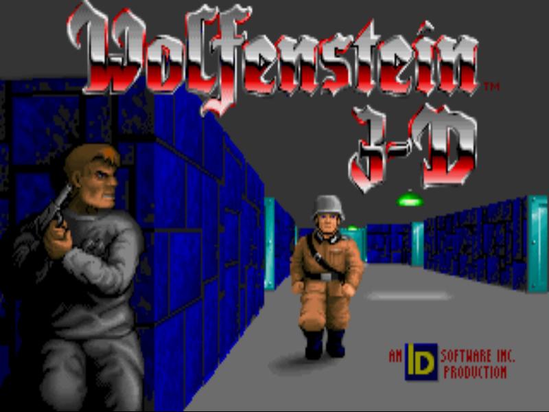 Wolfenstein Goodies News Thread Wolf3DTitleScreen
