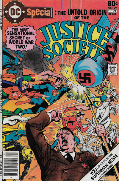 spear - I have scanned The Spear comic book Justicesociety01width400