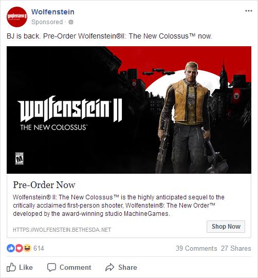 Wolfenstein Goodies News Thread Facebook-wolfII-advert