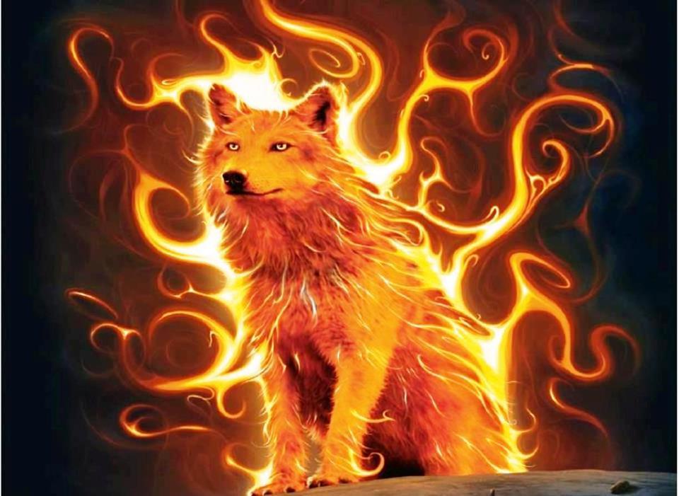 Avatars Flammes & Bougies Wolf_Flame_On