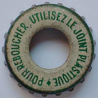 Vielle capsule avec un trou  PourReboucher